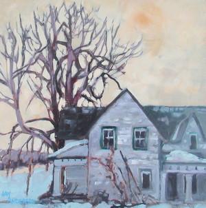 Abandoned Farmhouse, Nicoll's Island Rd.